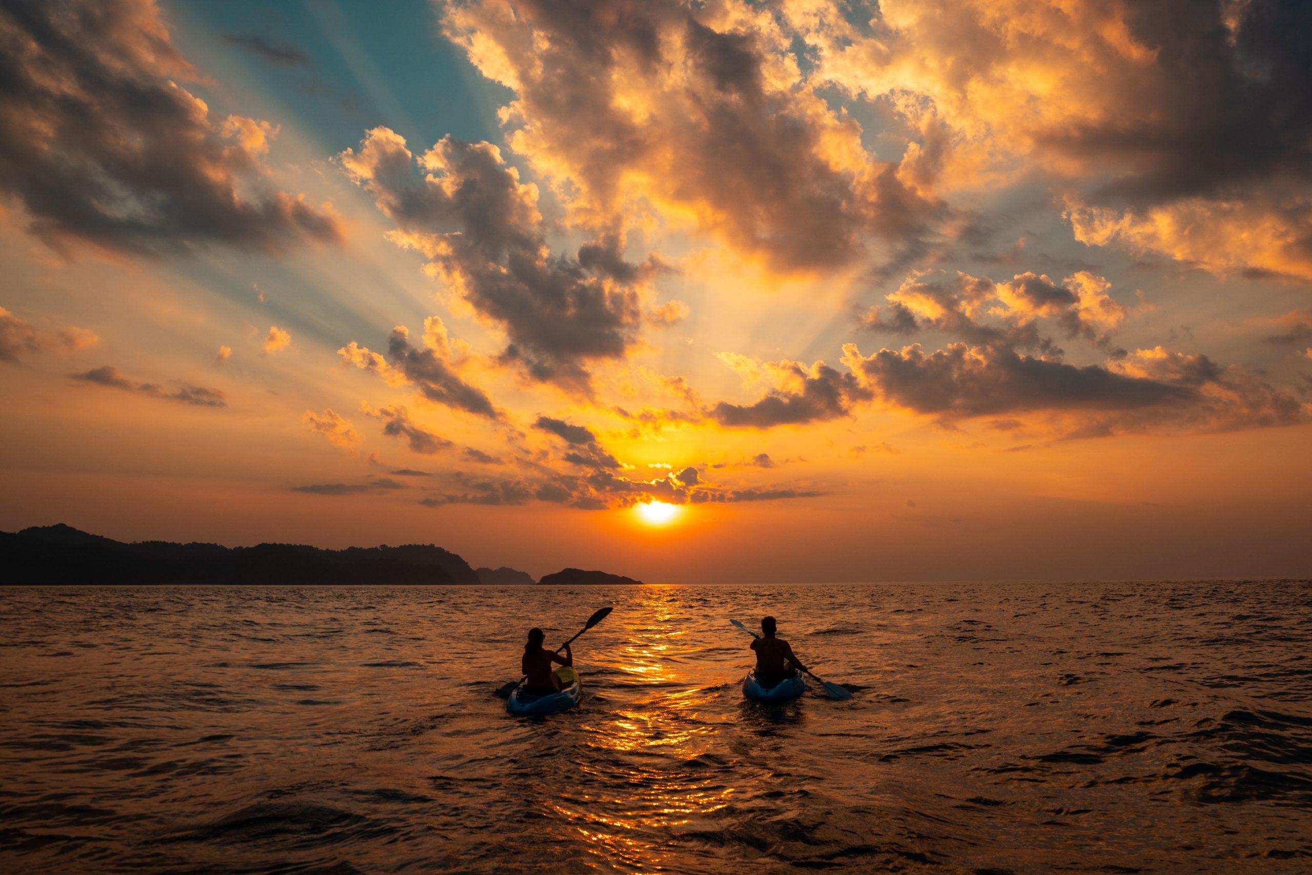 Sausalito Sunset Kayaking